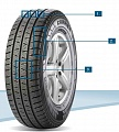 Pirelli CARRIER WINTER 215/75 R16 116R XL M+S TL
